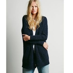 Free People Cloudy Day Oversized Button Cardigan